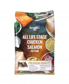 Angel All Life Stage Chicken Salmon Cat Food  4.8kg