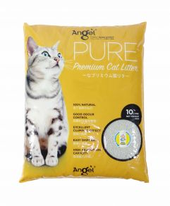 Angel Pure Premium Cat Litter 10L Baby powder Scented