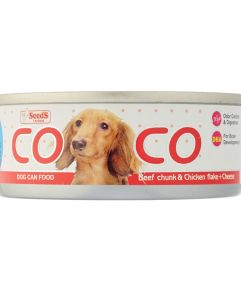 COCO Beef Chicken and Cheese 80g