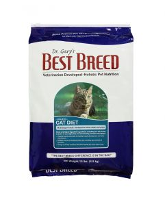 Dr. Gary's Best Breed Holistic All Life Stages Chicken and Herring Cat Diet Dry Food 6.8kg (15lbs)