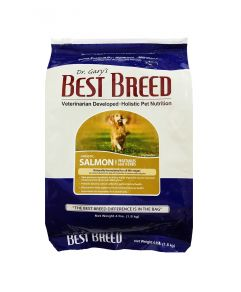 Dr. Gary's Best Breed Holistic All Life Stages Salmon with Vegetables & Herbs Dog Dry Food 4lbs (1.8Kg)