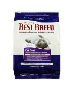 Dr. Gary's Best Breed Holistic Grain Free All Life Stages Chicken, Whitefish, Fruits and Vegetable Cat Diet Dry Food 1.8kg