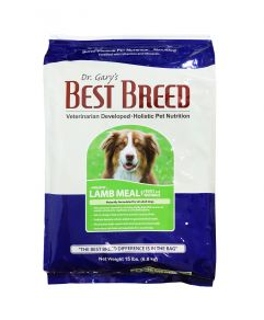 Dr. Gary's Best Breed Holistic Lamb Meal with Fruits & Vegetables Adult Dog Dry Food 15lbs (6.8Kg)