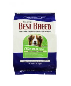 Dr. Gary's Best Breed Holistic Lamb Meal with Fruits & Vegetables Adult Dog Dry Food 4lbs (1.8Kg)
