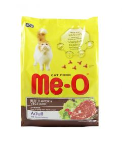 Me-O Beef and Vegetable Cat Food 1.2kg