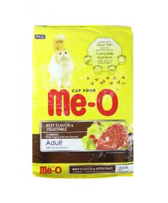 Me-O Beef and Vegetable Cat Food 7kg