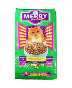 Merry Meal Time Seafood Cat Food 8kg
