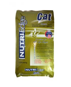 Nutri Edge Holistic Cat Food Chicken and Rice 6.8kg (15lbs)