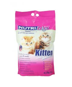 Nutri Edge Holistic Kitten Chicken & Rice Dry Cat Food 2kg(4.5lbs)